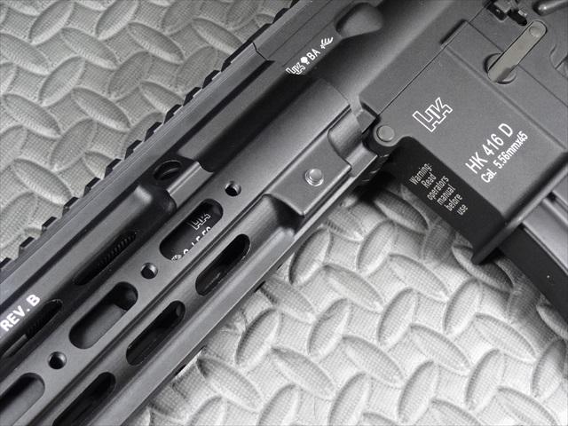 HK416 SMRレールカスタム