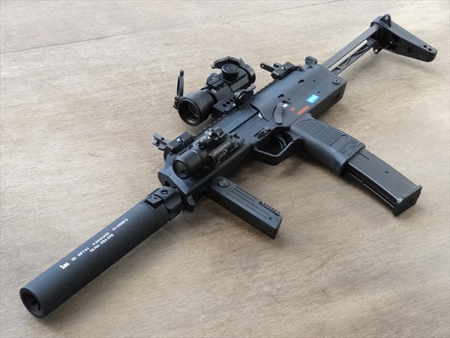 【海外バージョン】WE MP7A1 GBB BK